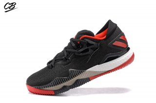 Adidas Crazylight Boost Noir Rouge Blanc