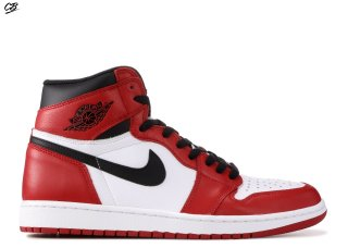 "Air Jordan 1 Retro High Og ""Chicago"" White Black Red (555088-101)"