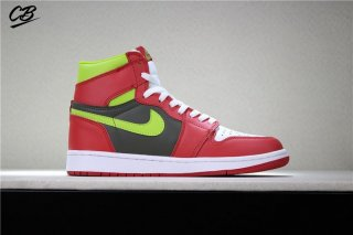 Air Jordan 1 Retro Rose Volt Blanc