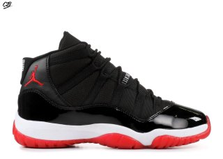 "Air Jordan 11 Retro (Gs) ""Countdown Pack"" Noir Rouge (342770-06)"