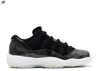 "Air Jordan 11 Retro Low Bg (Gs) ""Baron"" Noir (528896-010)"