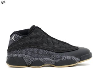 "Air Jordan 13 Retro Low Q54 ""Quai 54"" Noir Gris (810551-050)"