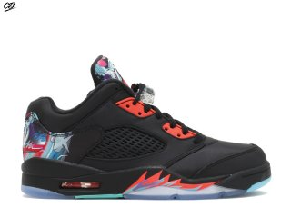 "Air Jordan 5 Retro Low Cny ""Chinese New Year"" Noir (840475-060)"