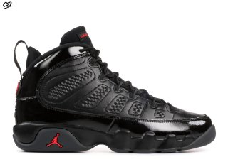 "Air Jordan 9 Retro Bg (Gs) ""Bred"" Noir Rouge (302359-014)"