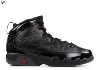 Air Jordan 9 Retro Bp Noir Rouge (401811-014)