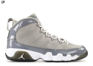 "Air Jordan 9 Retro (Gs) ""Cool Gris 2012 Release"" Gris (302359-015)"