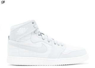 "Air Jordan Ko High Og ""Pure Platinum"" Blanc (638471-004)"