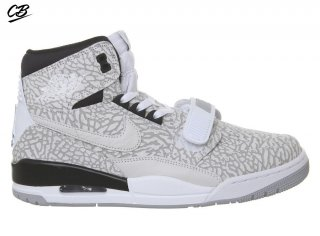 Air Jordan Legacy 312 Flip (Ps) Blanc Noir (at4047-100)