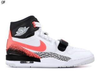 "Air Jordan Legacy 312 Nrg ""Hot Lava"" Blanc Noir Orange (aq4160-108)"