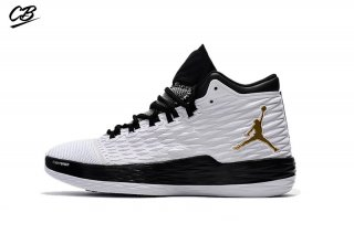 Air Jordan Melo M13 Blanc Noir Or (881562-131)