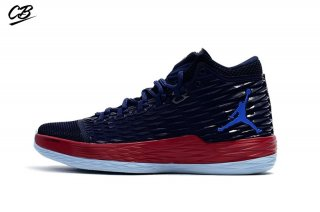 Air Jordan Melo M13 Marine Rouge (881562-406)