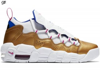 "Air More Money ""Peanut Butter & Jelly"" (Gs) Blanc Or (ah5215-101)"