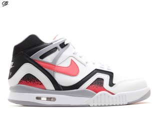 "Air Tech Challenge 2 Qs ""Lava 2014 Release"" Blanc Rouge"