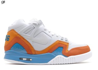 "Air Tech Challenge 2 Sp ""Australian Open"" Blanc Bleu Orange"