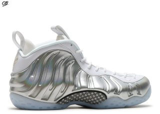 Nike Air Foamposite One Blanc Argent (aa3963-100)