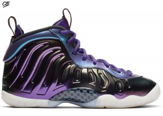 "Nike Air Foamposite One (Gs) ""Iridescent Pourpre"" Pourpre (644791-602)"