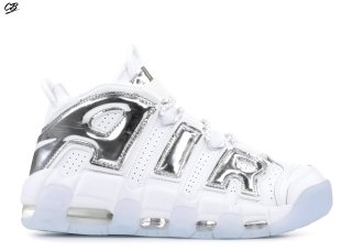 Nike Air More Uptempo Blanc Bleu (917593-100)