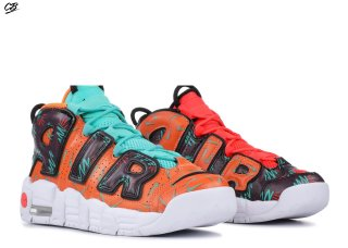 "Nike Air More Uptempo (Gs) ""What The 90S"" Orange Noir (at3408-800)"