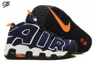 Nike Air More Uptempo Marine Blanc Orange