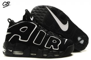 Nike Air More Uptempo Noir Blanc