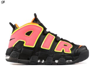 Nike Air More Uptempo Noir Orange (917593-002)