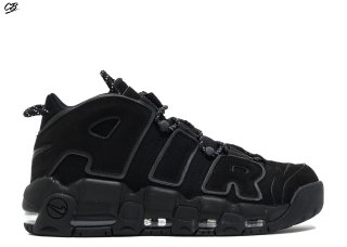 "Nike Air More Uptempo ""Noir Reflective"" Noir"