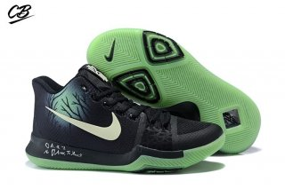 "Nike Kyrie Irving III 3 ""Fear"" Black Green"