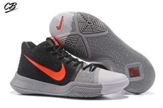 "Nike Kyrie Irving III 3 ""White Toe"" Black Red"