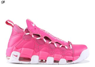 "Sneaker Room X Air More Money Qs ""Breast Cancer Awareness"" Rose Blanc (aj7383-600)"