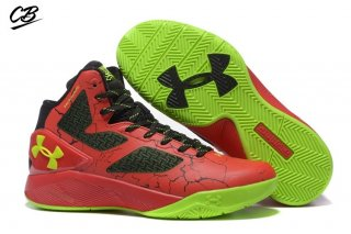 "Under Armour Clutchfit Drive 2 ""Elite 24"" Rouge Noir Volt"