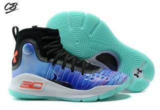 "Under Armour Curry 4 ""China Exclusive"" Bleu"