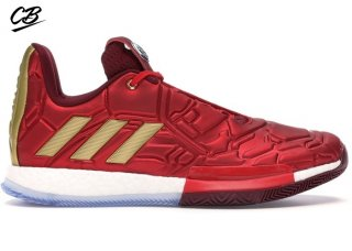 "Adidas Harden Vol.3 ""Marvel Iron Man"" Rouge (EF2397/EF2524)"