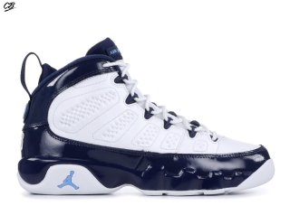 "Air Jordan 9 Retro (GS) ""Unc"" Bleu (302359-145)"