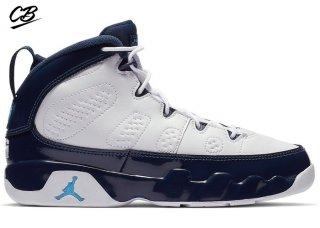 Air Jordan 9 Retro (PS) Bleue Pearl (401811-145)