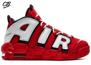Nike Air More Uptempo (GS) Rouge Noir Bianco (CD9402-600)