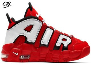 Nike Air More Uptempo (PS) Rouge Noir Bianco (CD9403-600)