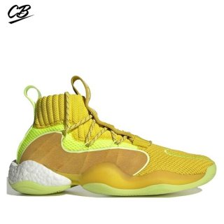 "Adidas Crazy Byw Prd Pharrell ""Now Is Her Time"" Jaune (EG7724)"