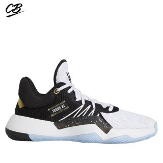 Adidas D.O.N. Issue 1 Blanc Noir Or (EG5670)