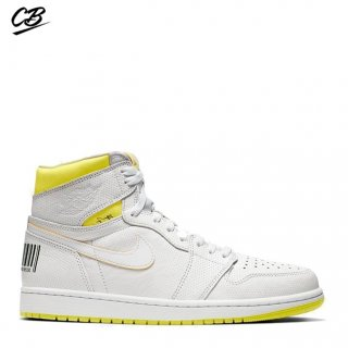 "Air Jordan 1 ""First Class Flight"" Blanc Vert (555088-170)"