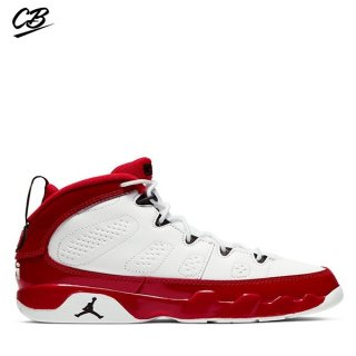 Air Jordan 9 Retro (PS) Blanc Rouge (401811-160)