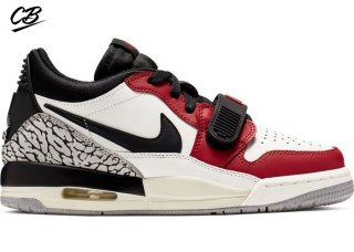 "Air Jordan Legacy 312 Low (GS) ""Chicago"" Blanc Rouge (CD9054-106)"
