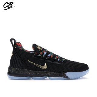 "Nike Lebron XVI 16 (PS) ""Watch The Throne"" Noir (CJ6707-001)"