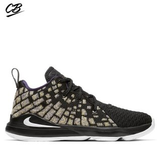 "Nike Lebron XVII 17 (PS) ""Lakers"" Noir (BQ5595-004)"