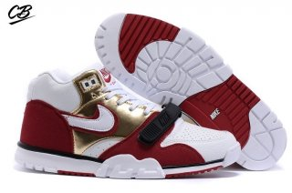 Nike Air Trainer 1 Mid Rouge Blanc