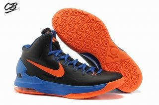 Nike KD 5 Noir Bleu Orange