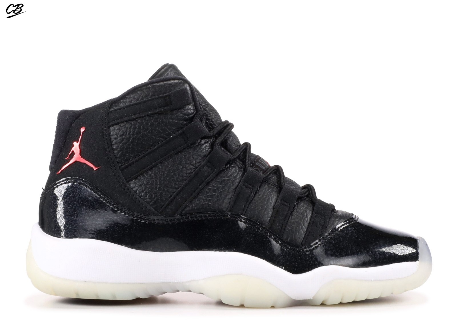 Air Jordan 11 Retro Bg (Gs) 72 10 Noir Blanc (378038-002 ...