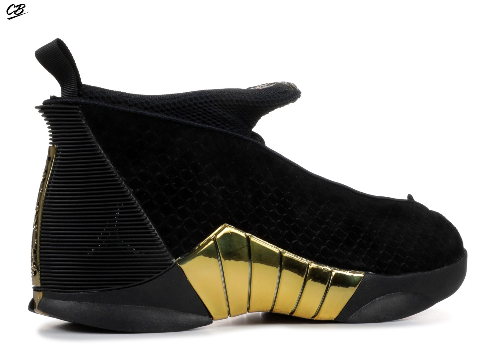 Air Jordan 15 Retro Doernbecher 2018 (Gs) Noir Or (nv7110-017)